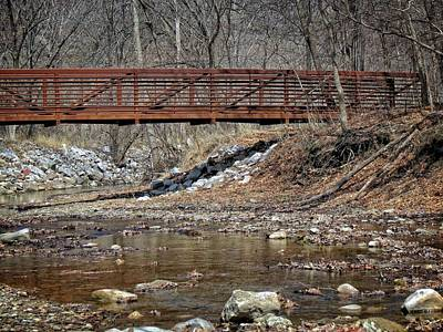 Photograph - Rusted Bridge by Kyle West