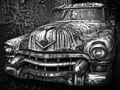 Rusted Cars Photograph - Rusted Chevy by Daniel Hagerman