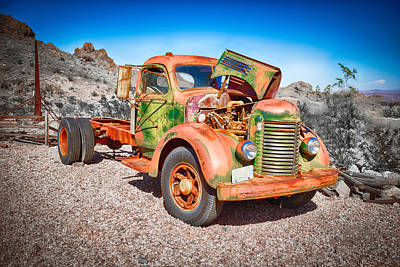 Photograph - Rusted Classics - The International by Mark Robert Rogers