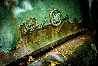 Photograph - Rusted Ford by Rod Kaye