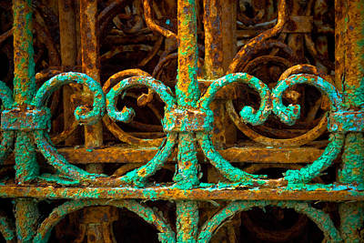 Photograph - Rusted Gates by Craig Perry-Ollila