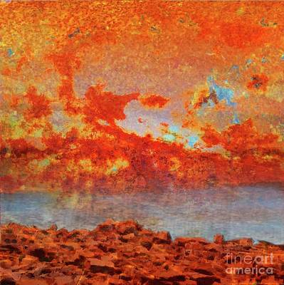 Painting - Rusted Glory 320 by Desiree Paquette