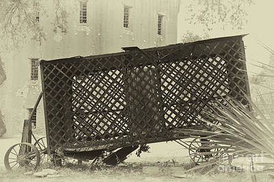 Photograph - Rusted Horse Drawn Paddy Wagon by Dale Powell