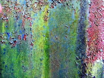 Photograph - Rusted In Time by Kathy Barney