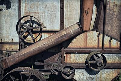 Technical Photograph - Rusted In Time by Michelle Calkins