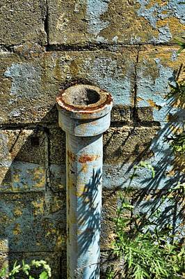 Photograph - Rusted Pipe by Mike McCool
