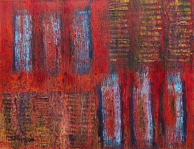 Painting - Rusted Repetition by Jason Williamson