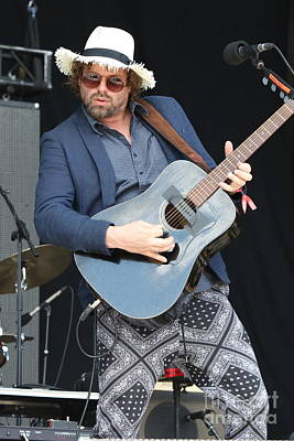 Photograph - Rusted Root Michael Glabicki by Concert Photos