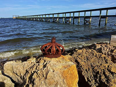 Photograph - Rusted Royal Crown by Denise Mazzocco