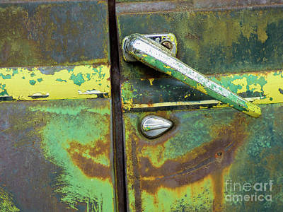 Rusted Series 4 Art Print by Laura Atkinson