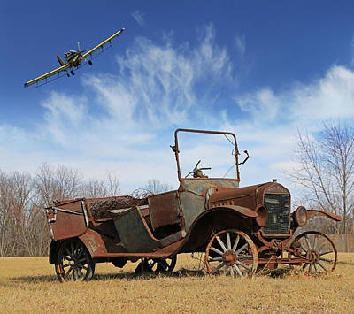 Photograph - Rusted T-model by Christopher McKenzie