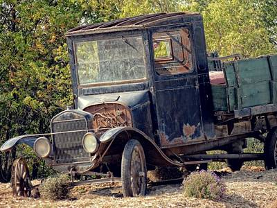 Photograph - Rusted Truck by Kyle West
