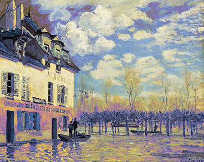 Flooding Digital Art - Rustic 15 Sisley by David Bridburg