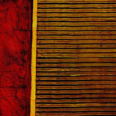 Painting - Rustic Abstract One by Michelle Calkins