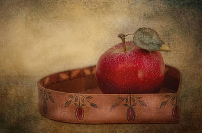 Photograph - Rustic Apple by Robin-Lee Vieira