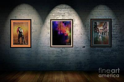 Digital Art - Rustic Art Gallery by Jim  Hatch