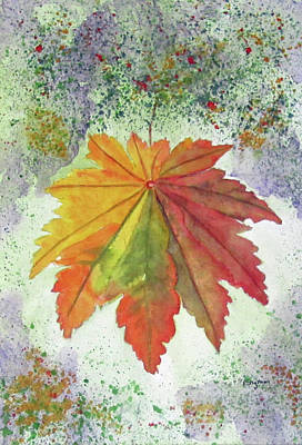 Painting - Rustic Autumn by Elvira Ingram