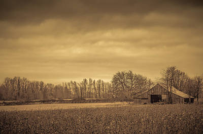 Photograph - Rustic Barn by Don Schwartz