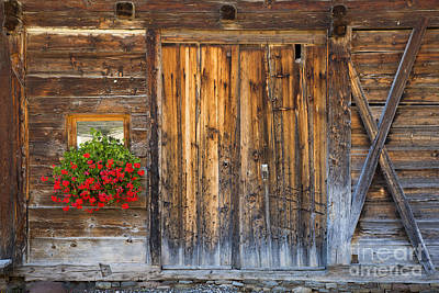 Photograph - Rustic Barn Door by Brian Jannsen