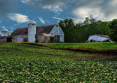 Photograph - Rustic Barn by Ron Grafe