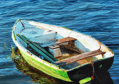 Painting - Rustic Boat by Sharon Bignell