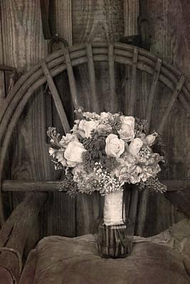 Photograph - Rustic Bouquet by Larah McElroy