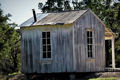 Photograph - Rustic Cabin 12618-3 by Ray Shrewsberry