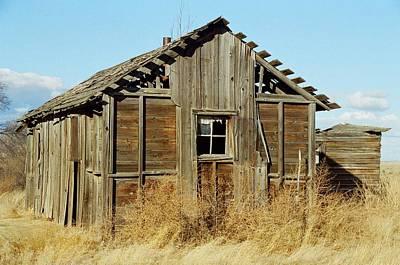 Rustic Cabin Original by Brent Easley