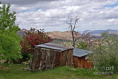 Photograph - Rustic Cabins On A Hillside by Patricia Strand