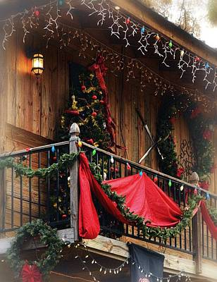 Photograph - Rustic Christmas by Nadalyn Larsen