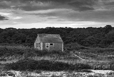 Rustic Coastal Cottage Art Print by John Greim