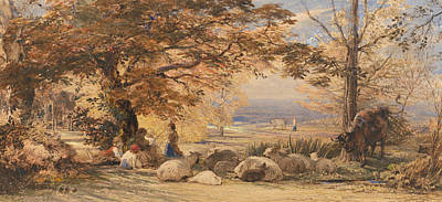 Painting - Rustic Contentment by Samuel Palmer