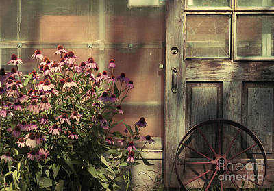 Photograph - Rustic Corner by Aimelle