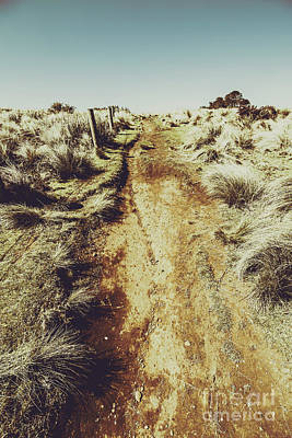 Nature Art Photograph - Rustic Country Trails by Jorgo Photography - Wall Art Gallery