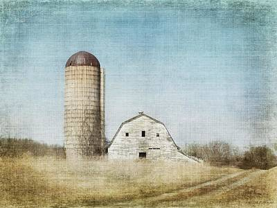 Artography Photograph - Rustic Dairy Barn by Melissa Bittinger