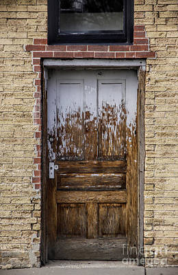 Rustic Door Art Print