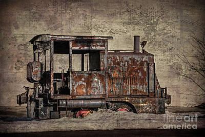 Photograph - Rustic Engine by Judy Wolinsky