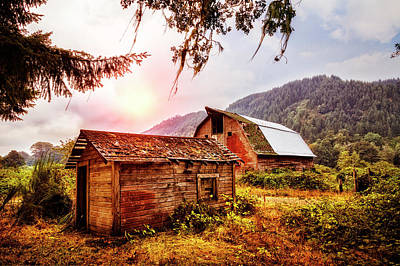 Photograph - Rustic Evening by Debra and Dave Vanderlaan