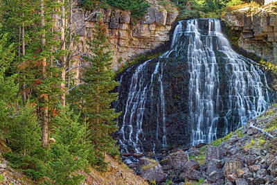 Photograph - Rustic Falls by James BO Insogna