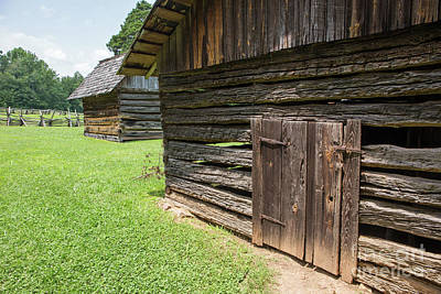 Photograph - Rustic Farm Buildings by Kevin McCarthy