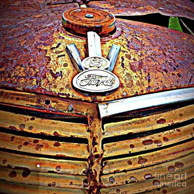 Photograph - Rustic Ford by Susan Garren
