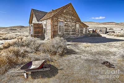 Photograph - Rustic House by Jason Abando