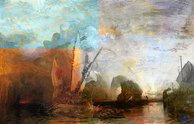 Desert Island Digital Art - Rustic I Turner by David Bridburg