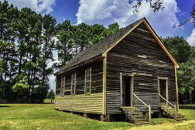 Photograph - Rustic Old Schoolhouse by Paula Porterfield-Izzo