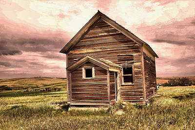 Photograph - Rustic On The Prairie  by Jeff Swan