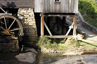 Grist Mill Painting - Rustic Planes by David Zimmerman