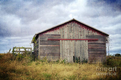 Photograph - Rustic Red Barn by Tamara Becker