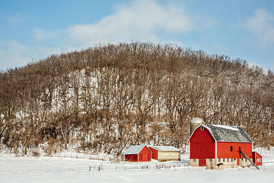 Photograph - Rustic Red by Todd Klassy