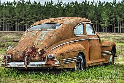 Antique Automobiles Photograph - Rustic Relic by Rick Mann