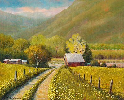 Painting - Rustic Road by Douglas Castleman